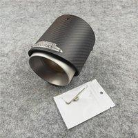 Motorrad Auspuffanlage einteilig Matte schwarz Schalldämpfer Tipp für MINI Cooper S R55 R56 R60 F54 F55 F56 Carbon Faser Edelstahlrohr