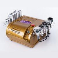 휴대용 40K 초음파 Cavitation 시스템 다중 극 RF Lipo 레이저 진공 지방 흡입기 슬리밍 기계 스킨 케어 살롱 스파 8 패드 Lipolaser