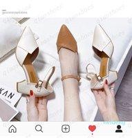 2021 34-40 امرأة أحذية جلد طبيعي داخل الكعوب المنخفضة النساء مضخات الخنجر المرأة العمل الأحذية أشار تو أحذية الزفاف