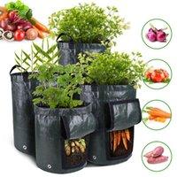 Kartoffel Gemüse wachsen Container Tasche Pflanzgefäß Stoffe Pflanzung Gartenarbeit Verdicken Topf Gartenwerkzeug D30 Pflanzgefäße Töpfe