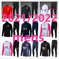 Leeds United Mens Soccer RaceSuit Chandal Futbol Survetement القدم الفانيلة Boca 2021 2022 الرجال المدربون الكبار كرة القدم جيرسي التدريب ارتداء سترة 188
