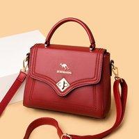 Evening Bags Small Women Handbag Solid Color Pu Leather Shoulder Bag Vintage Flap Messenger Ladies Travel Tote Simple Crossbody