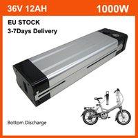 36V 12AH Lithium Fish Fish Ebike Battery Pack 500W 36 V 13Ah Batería de bicicleta eléctrica con el cargador de 42V 2A y 15A BMS BS BAKER DESCURSO DE LA UE