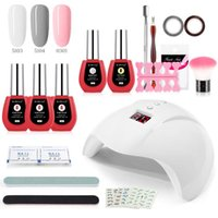 Nail Gel 36W Lamp Polish Kit Soak Off Manicure Set Electric Drill For Tools 120W UV LED Dryer With