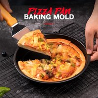 Pizza Pan Baking Mold Cake Bakeware Tools 3D Bread Pastry Mould DIY Birthday Wedding Party