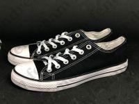 En stock Chaussures de toile Femininas Femmes et hommes, haut de gamme basse classique classique de style basse taille 35-46 confortable