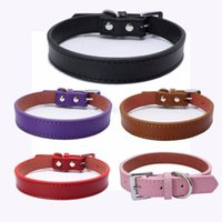 PipiFren Small Cats Collars Pets Puppy Chihuahua Kitten Necklace Leather For Dogs Collar Accessories Animali Accessori Per Cani Cat & Leads