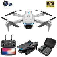 Faltende UAV 4K HD-Luftaufnahme Dual-Kamera-Vier-Achsen-Flugzeugluftdruck Fixierte Höhe Fernbedienung Flugzeuge