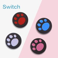 Replacement Silicone Case Covers Cat Claw Joystick Caps Controller Grip Thumbstick Buttons Cover Shell For Nintendo Switch Gamepad