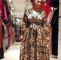 Africano Ankara África Roupas Vestuário Das Mulheres Vestidos Robe Plus Size Africaine National Popular Imprimir Vestido Longo