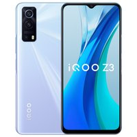 "Original vivo iqoo z3 5g Handy 6GB RAM 128 GB ROM Snapdragon 768g Octa Core Android 6.58 ""Vollbild 64.0mp AF 4400mAh Fingerabdruck ID FACE WACK SMART MELTELN"