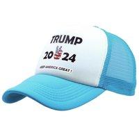 12 Stilleri Trump 2024 Şapka Trump Biden Yaz Net Şapka Peak Cap ABD Başkanlık Seçim Beyzbol Şapkası Güneş Şapkaları CCF5681