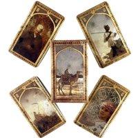 Old Arabian Lenormand Cartes d'oracles de loisirs Table de la fête de loisirs Jeux de haute qualité Discours de tarot de la fortune de haute qualité avec un guide