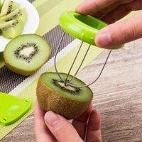 Criativo artigos domésticos Kiwi peeler de aço inoxidável quivi ferramenta de peeling especial fruta fresca divisor casca