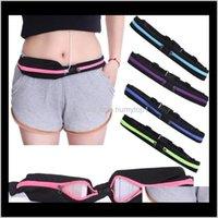 Bags & Outdoorswaterproof Sport Bag Running Waist Pocket Jogging Sports Portable Cycling Bum Outdoor Money Phone Anti-Theft Pack Belt Drop D