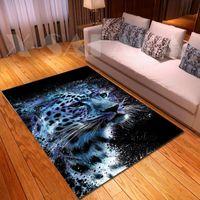 Carpets The King Tiger Skin Flower 3D Printed For Living Room Bedroom Large Area Carpet Kids Play Floor Mat Child Game Rug9