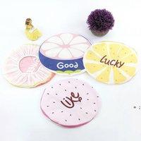 Niedliche Cartoon Obst Muster Wasserdichte Dusche Kappe Kesselbad Haarkappen für Erwachsene Frauen Küche Badezimmer NHF7674