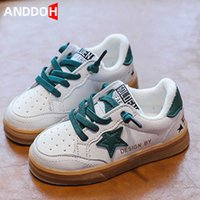 Size 21-30 Children Casual Soft Bottom Sport Sneakers Girls Boys Kids Anti-slip Light Fashion Running Shoes Baby Toddler Shoes H0917