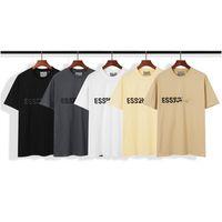 2021 الربيع الصيف الهيب هوب أساسيات 3d السيليكون تي سكيت شيرت و الرجال النساء قصيرة الأكمام عارضة قميص