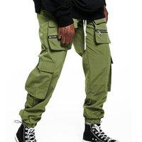 Men's Pants Nice Men Hip Hop Streetwear Tactical Cargo Male Joggers Casual Trousers Pantalon Homme