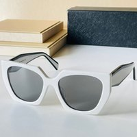 Designer MONOCHROME PR 15WS Sunglasses for mens or womens black and white color matching frame pink brown fashion shopping women glasses casual party style with box