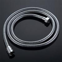 """Tubo flessibile per doccia a mano, acciaio inox 1,5 m tubo impermeabile tubo anti-kink, accessori per il bagno Tubi flessibili standard Interfaccia universale standard (G1 / 2 """") EDMP per la maggior parte dei fixtures-neri"""