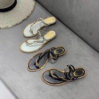 80% Off Shoes Women Summer Rhinestone Shoes Flat Slippers Open Toe Roman Beach Sandals Ladies Flip Flops Glitter Snake Cross Slides