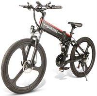 [UE non tasse] SAMEBIKE LO26 26 pollici Pieghevole Smart Bike Electric Bike Assist Electrical 48V 350W Motor 10.4Ah E-bike per l'oggetto da viaggio all'aperto