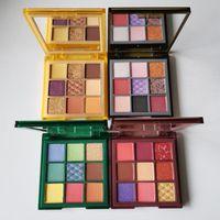 New cosmetic WILD 9 colors Eyeshadow TIGER JAGUAR PYTHON CHAMELEON palettes Matte shimmer Eye shadow Makeup Palette