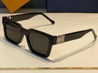 1413 Moda Yaz Tarzı Degrade Lens Güneş Gözlüğü UV 400 Koruma Erkekler ve Kadınlar Için Vintage Kare Tahta Çerçeve En Kaliteli Case Classic Eyeglasse ile Gel