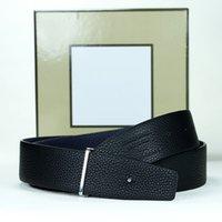 2021 Brands di lusso cinture da uomo Abbigliamento Accessori Abbigliamento Business Designer Cintura per uomo Big Fibbia Fashion Mens in pelle cintura in pelle all'ingrosso con scatola origia