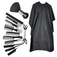 Hair Scissors 14PCS Set Hairdressing Kit Multi-function Professional Cutting Set With Combs And Cape For Daily Haircut
