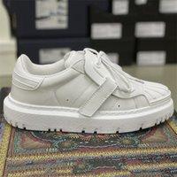 2021 Designer ID Sneaker Frauen Kalbsleder Schuhe Runner Trainer Lace Up Gummige Sohle Plattformschuhe Outdoor Casual Schuhe mit Box 277