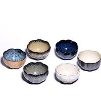 Cups & Saucers Japanese Coarse Pottery Master Tea Cup Handmade Retro Teacup Set Ceramic Vintage Small Bowl Office Drinkware