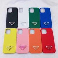 مصمم الأزياء الحالات الهاتف لفون 12 برو ماكس 11 XS XS ماكس 7/8 بلس بو الجلود الهاتف شل لسامسونج S8 S9 S10 زائد ملاحظة 8 9 10
