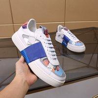 Erkekler Kadınlar Rahat Düşük Ayakkabı Üst Elbise Mektup Baskı Düz Klasik Açık Mens Bayan Sneakers