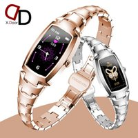 2021 Full Touch Screen Wath Watch With Cuidados do Corpo Real Oxygen H8 Pro Lady SmartWatch