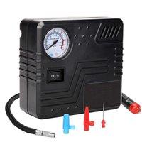 Tragbare Luftkompressorpumpe 150 PSI-DC 12V Auto Reifen Inflator Gauge Auto mit analoger Anzeige, TE-0D Handtuch