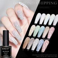 Nail Gel EDISHAN 102 Colors Reflective Glitter Polish Shiny Semi Permanent Art Varnishes For Need Base Top Coat