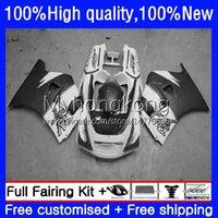 Fairings Kit For SUZUKI 250CC RGV250 SAPC VJ21 RGVT250 Body 31No.006 RGVT-250 RGV-250 VJ22 88 89 90 91 92 93 Grey white RGVT RGV 250 1988 1989 1990 1991 1992 1993 Bodywork