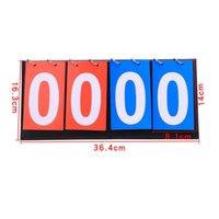 Scheda di punteggio a 4 cifre Pallacanestro Arbitro Soccer Sport Sportsboard per il calcio Badminton Volleyball Ping pong Accessori