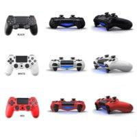 Controller per il joystick di vibrazione PS4 Gamepad Controller di gioco wireless per vibrazione PS4 con scatola dei pacchetti al dettaglio multi colori