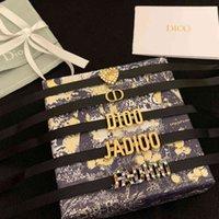 D Family Choker Net Red Wify Dijia 2021 Новая Мода Высокая версия CD Письмо Ожерелье Ожерелье