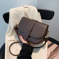 Hbp Flip Tipo de Messenger Bag Insfashion Versão Coreana Ombro Casual Testado Saddle Lychee Hand