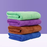 الألياف منشفة الكلب التجفيف السريع الجافة المناشف أزياء الحيوانات الأليفة حمام المناشف تنظيف القماش إمدادات الحيوانات الأليفة 40 * 60 سنتيمتر HHC6738