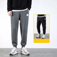 2021 NOUVEAUX MEN S Pantalon de survêtement Solid High Street Pantalons Hommes Pantalons de style coréen Marque Haute Qualité Hommes S Joggers