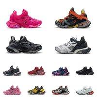 Hohe Qualität Männer Frauen Schuhspur 4.0 Sportschuhe Triple S Black Vergleichen Sneaker Green Fashion Trainer 18ss Ähnliche Designer