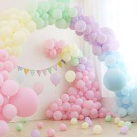 5-Inch Macaron Balloon Wedding Decoration Birthday Party Supplies
