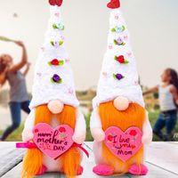 Festa della mamma carina roba senza volto africana bambola fatta a mano regali creativi panno bambola bambola foresta vecchio party home ornamenti owb5829