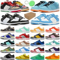 With Box &Tag Camcorder Chunky Dunky Dunk Mens Running Shoes What The University Blue Coast Civilist Gulf Celadon Low Men Women Trainers